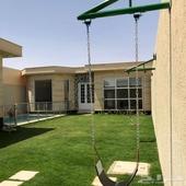 فرصة استثمارية في شمال بريدة للبيع شاليه مؤجر سنوي