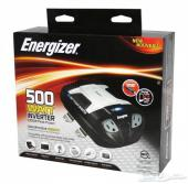 محول امريكي من الماركة الشهيرة انرجايزر ENERGIZER للسيارة بقوة 1000 واط (500 واط مستمر)