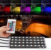 اضاءة LED داخلية لجميع السيارات