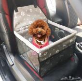 كرسي سيارة للقطط والكلاب