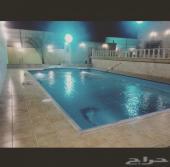 استراحة راقية في جدة بمسبح كبير وفيلا فخمة