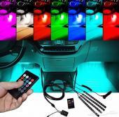 مزاد على ليد RGB داخلية لكافة انواع السيارات.