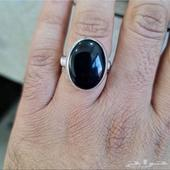 خاتم جزع يماني ملكي
