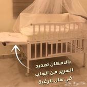 سرير خشب للاطفال