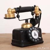 تلفون شكل قديم ( تم البيع )