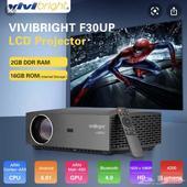 بروجكتر سينما FULL HDيدعم4K اضاءة قوية ودقة وضوح عالية(عرض)