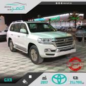 تويوتا لاندكروزر GXR ديزل ب216.000 سعودي 2017