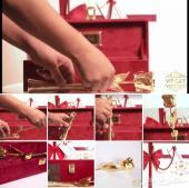 هدية فاخرة( (VIP) ) الهدية المرصعة بالذهب