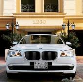 للبيع سيارة بي ام دبليو موديل 2010( 740 ) Li