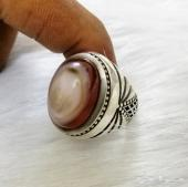 خاتم عقيق سليماني صياغة يدوية متقنة