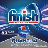 صابون غسالة الصحون(كبسولات)ماركة فينيشFINIS