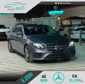 مرسيدس E200 AMG خليجي 2019