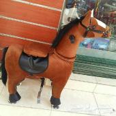 بيع حصان متحرك بكفرات