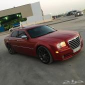 للبيع كرآيسلر srt8 2007 آحمر نظيف