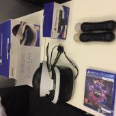 Playstation VR في ار للبيع مع يدين موف وشريط