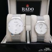 ساعات ماركة رادو ( طقم رجالية - نسائية )