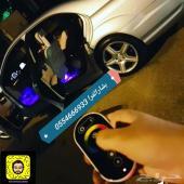 اضاءة داخلية لسيارتك 32 لون ريموت لمس
