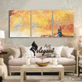 لوحات جدارية من الكانفس