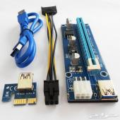1X To 16X Extender BTC Riser Card Adapter