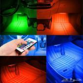 اضائه داخليه للسياره LED ليد 16 لون نقي وهادئ