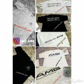 تيشيرت مرسيدس و AMG متوفر المقاسات والالوان
