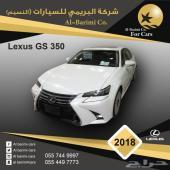 لكزس GS 350 موديل 2018 بريمي فئة CC