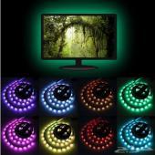 انارة خلف شاشات التلفزيون 16 لون