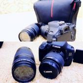 كاميرا كانون D 600 مع زوم