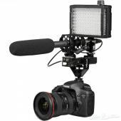 إضاءة LED لكاميرات التصوير ماركة iKan