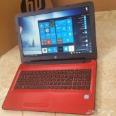 لابتوبات_HP_جديدة_مواصفات ممتازة_Core i3_أحمر