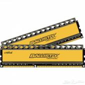 رامات DDR3 1866mhz حجم 16 جيجابايت ب 400 ريال