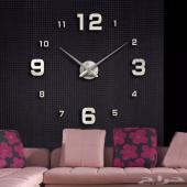 ساعات جدارية 3D modern  ( عرض خاص )