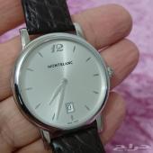ساعة فخمة نوع مونت بلانك Montblanc رجالية
