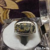 خاتم بعقيق يمني نادر جدا مكتوب فيه(لله)