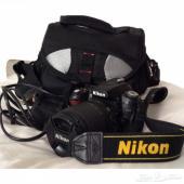 للبيع كاميرا نيكون D90 مع العدسة