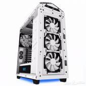 بوكس كمبيوتر كيس ومبرد NZXT NOCTIS 450-White