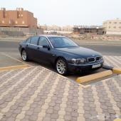 للبيع BMW 745 IL نظيييفة موديل 2003 19000ريال