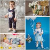 اطقم وملابس حديثي الولادة والأطفال