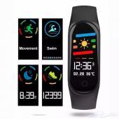 ساعة ذكية رياضية بشاشة ملونة - M3