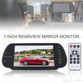 عرض شاشة تشغيل الوسائط المتعددة وكاميرا خلفية