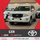 تويوتا لاندكروزر GXR على السوم سعودي 2014