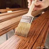 اعمال دهانات خشبية دهان خشب تجديددهانات ترميم