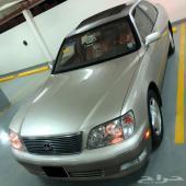 لكزس ls400 مصدوم 1999 ( تم البيع )