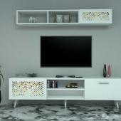 طاولات تلفزيون بنقش مطبوع - شحن مجاني