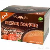قهوة ريشي 10 أكياس 3 في 1