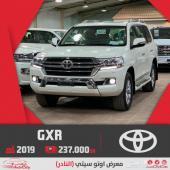 تويوتا لاندكروزر GXR سعودي 2019