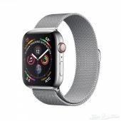 ساعة ابل ستانلس ستيل Apple Watch Series 4
