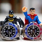 ساعات رولكس باتمان وسوبرمان - البحرين