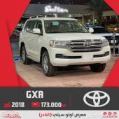 تويوتا لاندكروزر GXR v6 ستاندر سعودي 2018