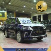 لكزس فئة LX 570  فل كامل سعودي موديل 2020